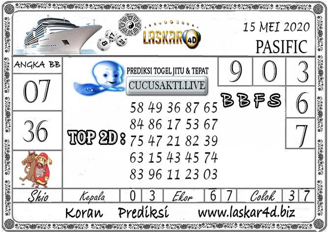 Prediksi Togel PASIFIC LASKAR4D 15 MEI 2020