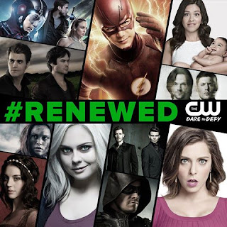 The CW Renews FLASH, ARROW, IZOMBIE and More!