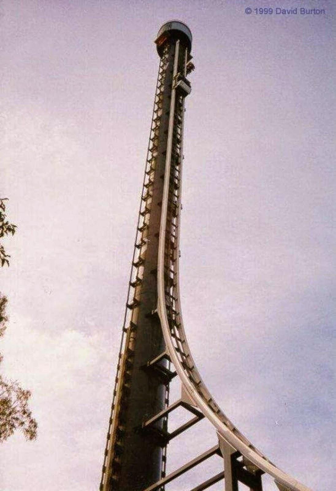 10 Amazing & Scariest Rollercoasters in the World | Tower of Terror II, Queensland, Australia