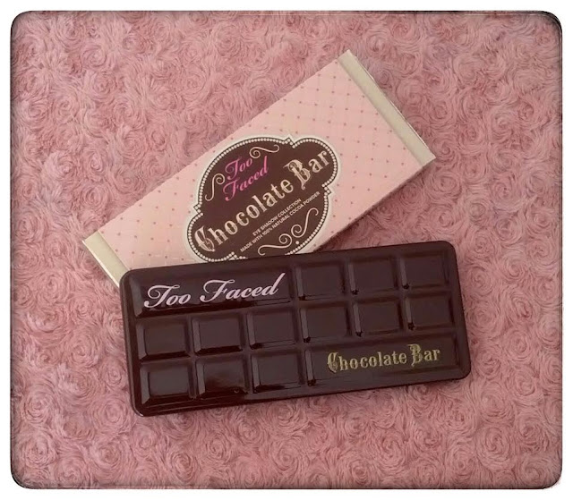 Too faced naked sugar pop chocolate bar boudoir eyes urban decay