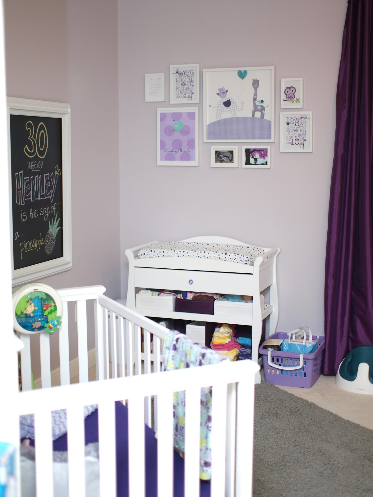 Our Own Kind Of Paradise Baby G Nursery Is Complete