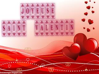 Modèle de texte saint valentin gratuit pour cartes saint valentin