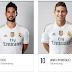 Daftar Sosial Media® Milik Pemain Real Madrid 2016
