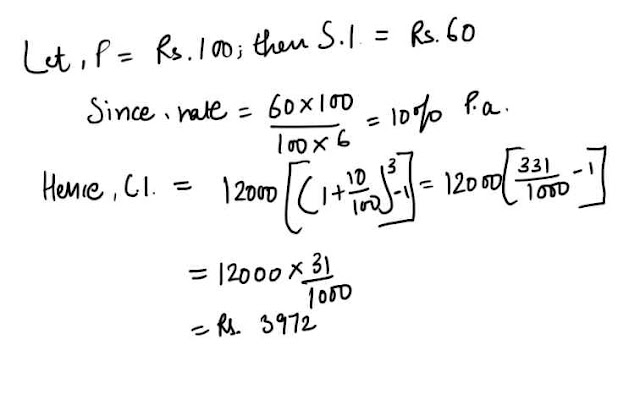 compound interest solution  2