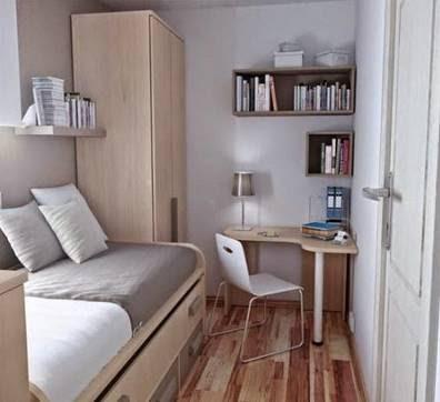 Model Desain Interior Kamar Tidur Minimalis Sederhana