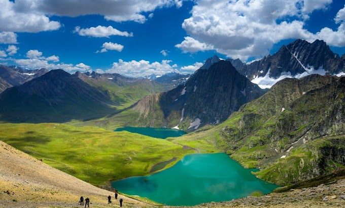 Kashmir Great Lakes Trek In Pictures