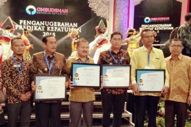 Hebat, Padang Pariaman Raih Predikat Kepatuhan Tinggi dari Ombudsman