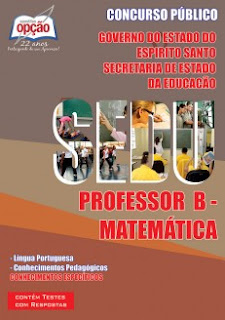 Apostila SEDU ES Professor Matemática (MaPB