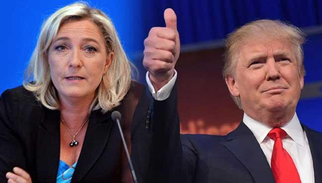 Μαρίν Λεπέν: «Η εκλογή του Ντόναλντ Τραμπ ήταν μια νίκη εναντίον της ελίτ»