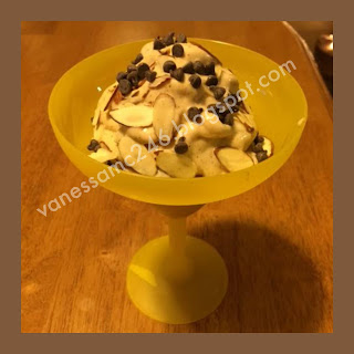 21 Day Fix, Cookbook, FIXATE, chunky monkey ice cream recipe, Autumn Calabrese, 21 Day Fix Containers recipe, vanessamc246, the butterfly effect, change one thing change everything, dessert