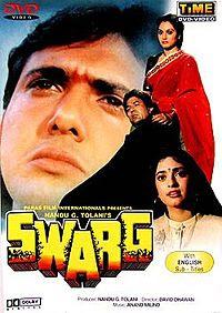 Hindi Movie for free: Swarg full movie