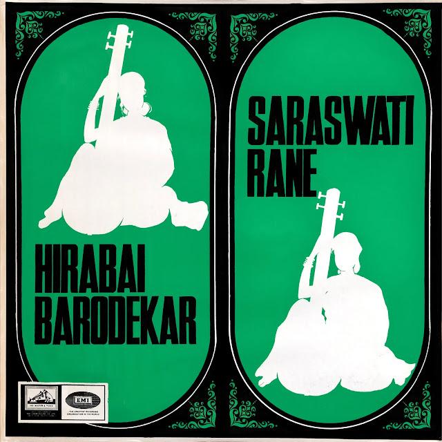 Hindustani Kirana Ghana Raga Indian music musique indienne chant singer Hirabai Barodekar Saraswati Rane Abdul Kareem Khan