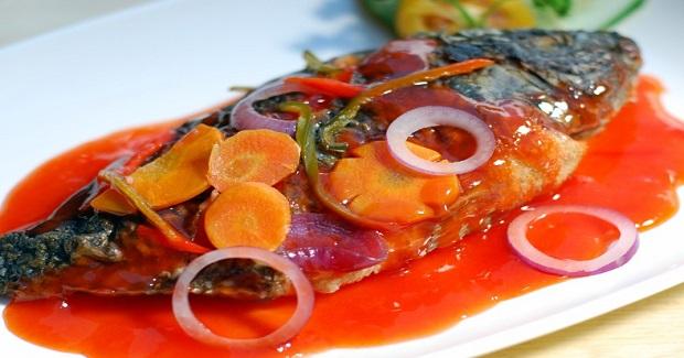 Fish Escabeche (Sweet & Sour Fish) Recipe