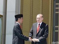 Menurut NasDem Sosok Erdogan dinilai Mirip dengan Jokowi, Ini Sebabnya