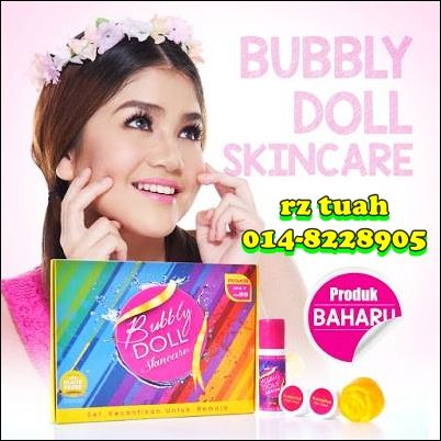 bubbly doll skincare remaja berjerawat