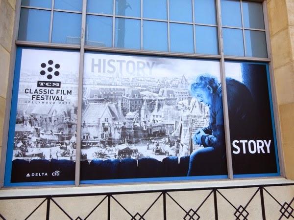 Hunchback TCM Classic Film Festival window poster