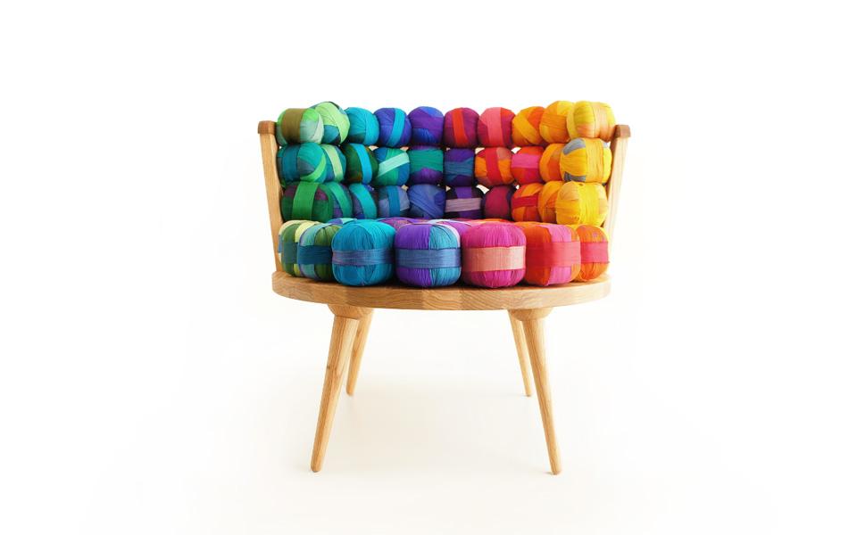 Recycled Silk Chair | #decomanka