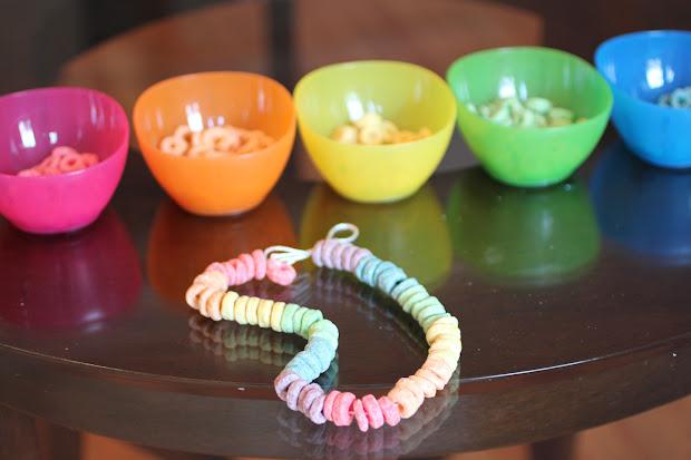 Rainbow Fruit Loop Necklaces