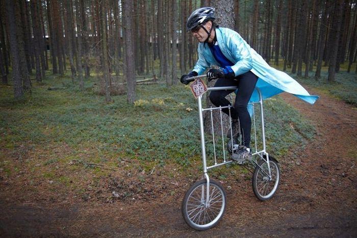 смешные велосипеды