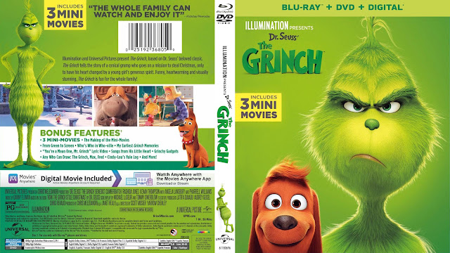 The Grinch Bluray Cover
