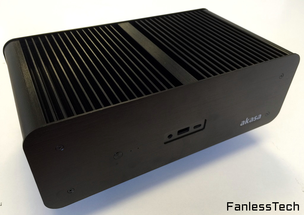 Fanlesstech Exclusive First Mini Stx Fanless Case