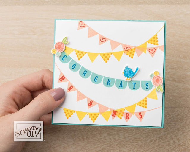 Pick a Pennant bundle from Stampin' Up!