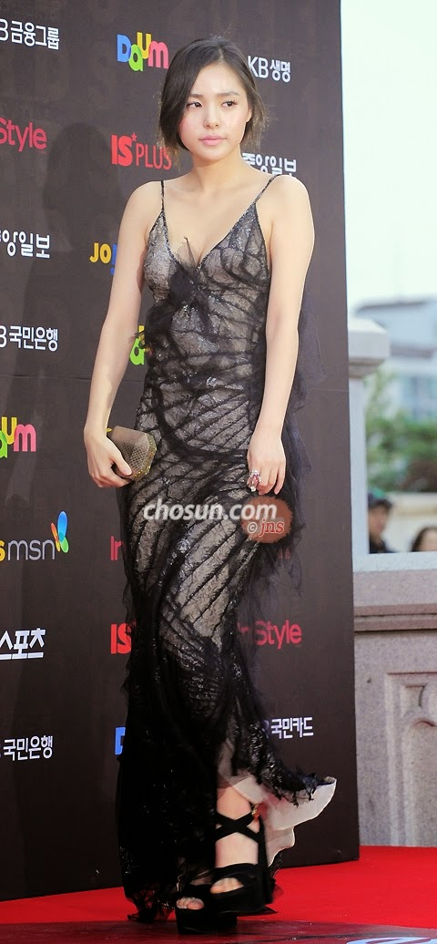 Min Hyo Rin (민효린) -  47th Baeksang Arts Awards (BAA 2011) on 26 May 2011