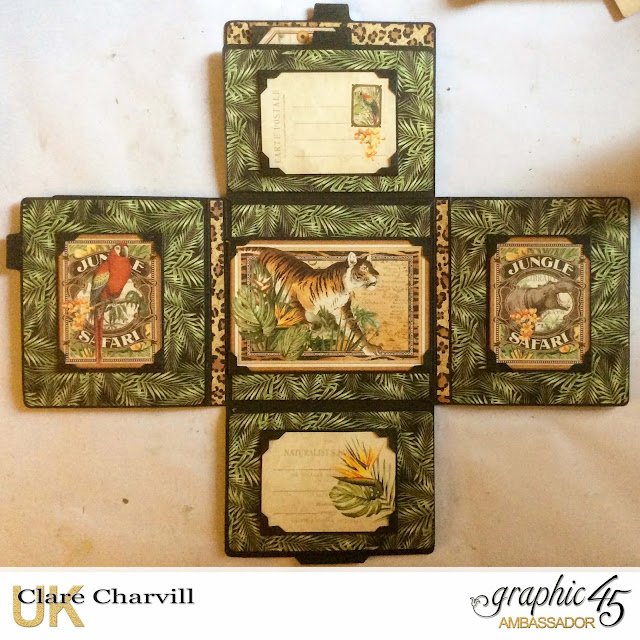 Safari Adventure Photo Wallet 4 Clare Charvill Graphic 45