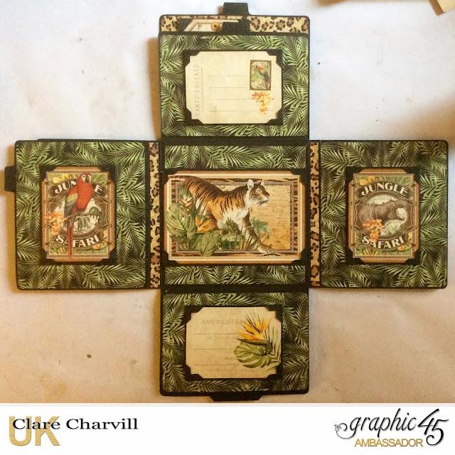 Safari Adventure Photo Wallet 4 Clare Charvill Graphic 45