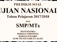 Bocoran Prediksi Soal UN SMP/MTs Tahun 2018