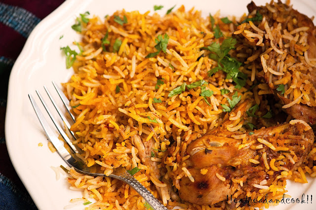 simple and easy Spicy Kadai Biryani recipe