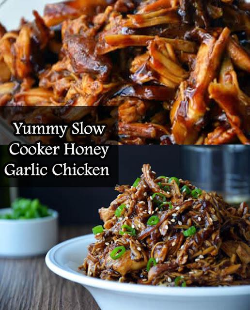 Yummy Slow Cooker Honey Garlic Chicken