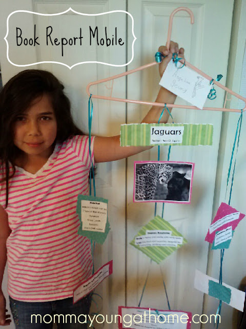 How to Make a Hanger Mobile Book Report