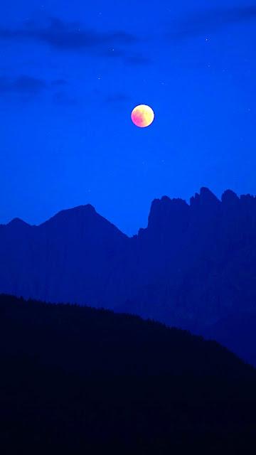 beautiful wallpaper italy blue shades night moon