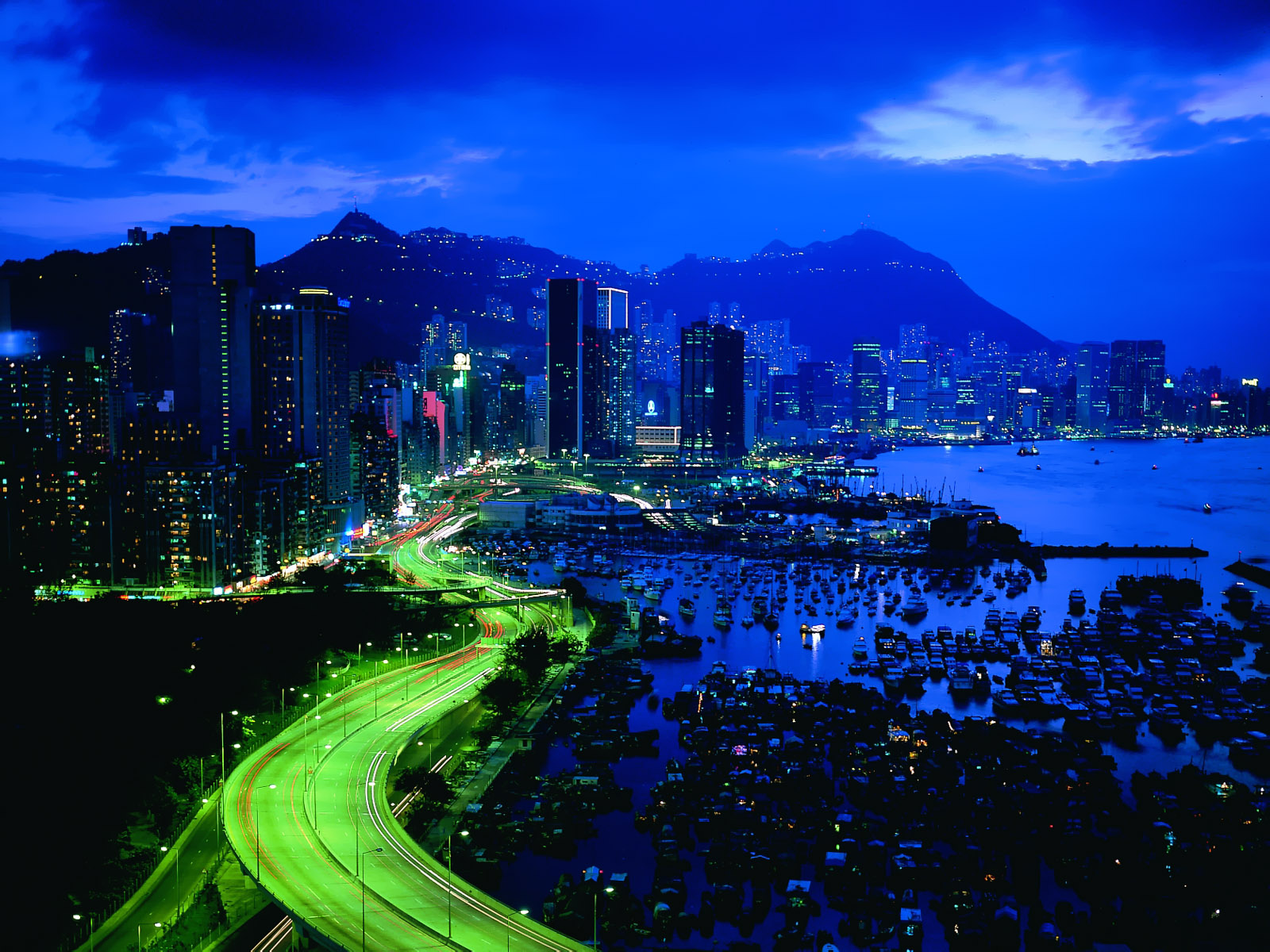 City Lights and Buildings Wallpapers HD | Nice Wallpapers