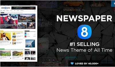 NewsPaper v8.1 Wordpress News Magazine Theme
