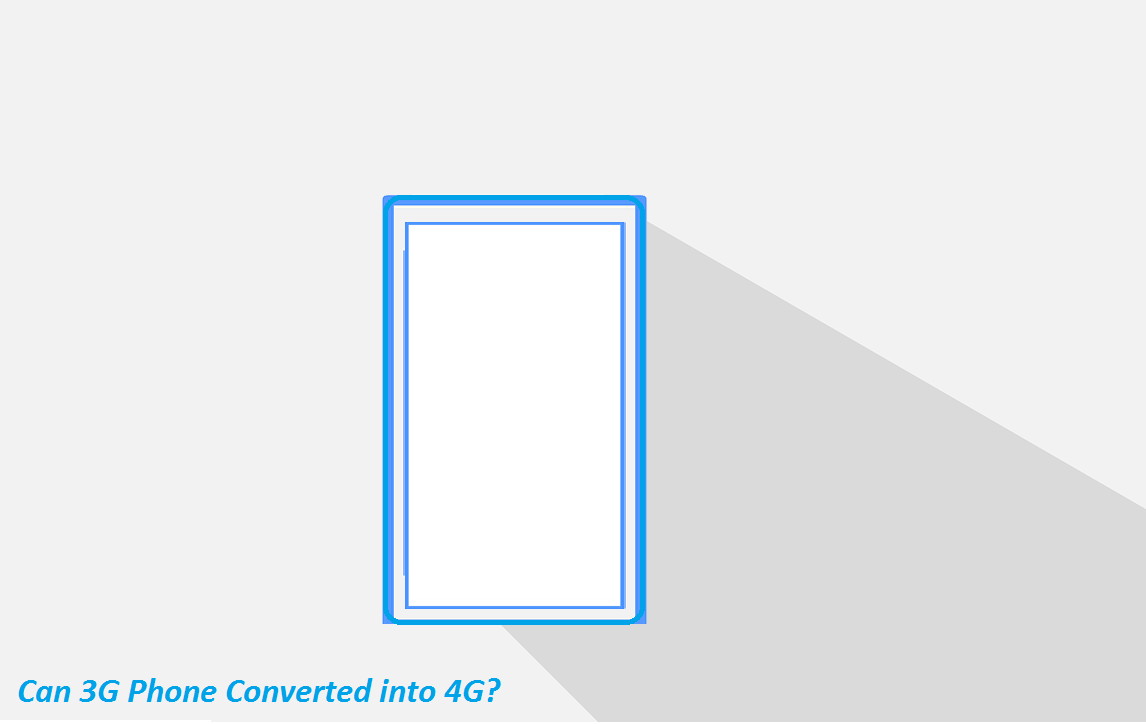 Apakah 3G bisa diubah jadi 4G