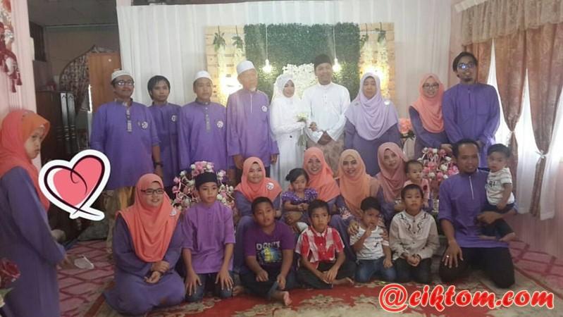 gambar pengantin dengan keluarga perempuan