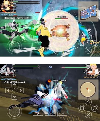 Download Naruto Shippuden Ultimate Ninja Storm Legacy Boruto CSO ISO PPSSPP PSP