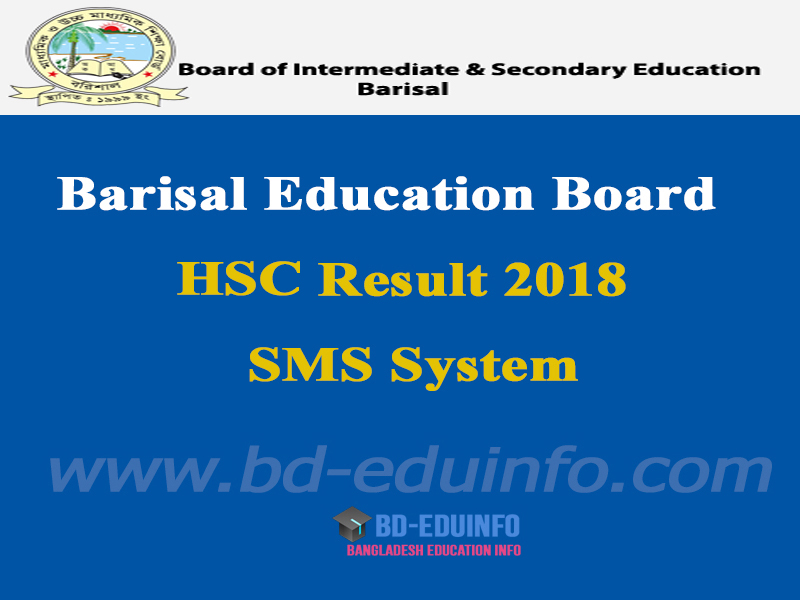 Barisal Board HSC Results 2018
