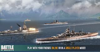 Battle of Warships v1.36 (Mod Money)