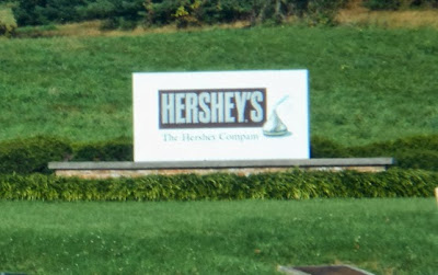 Hershey Chocolate Factory in Pennsylvania