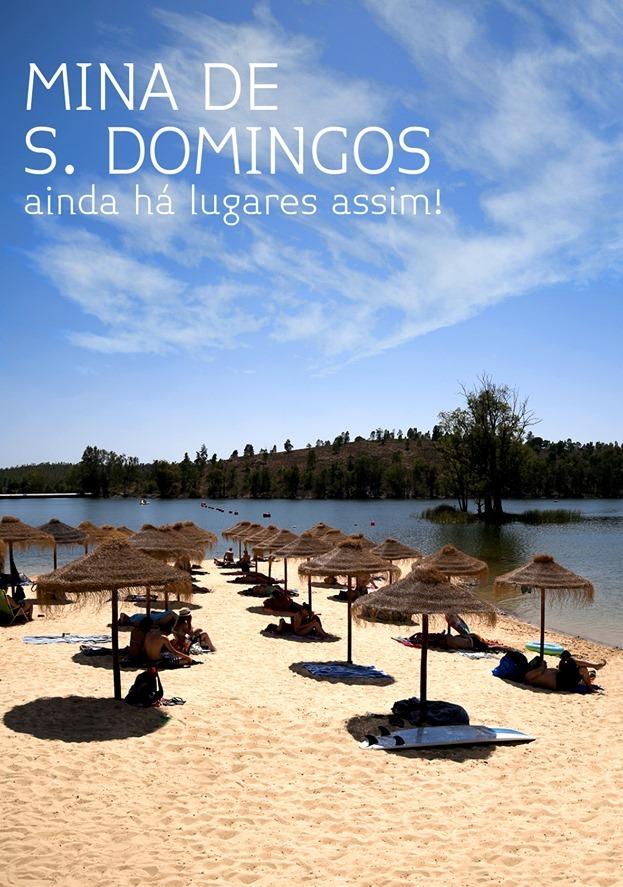 Praia Mina de São Domingos