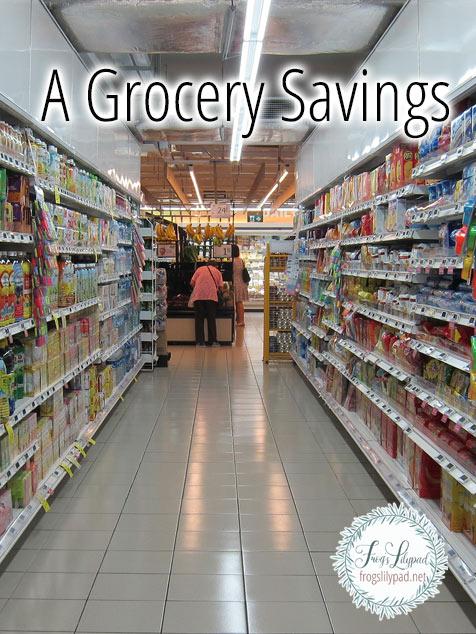 A Grocery Savings