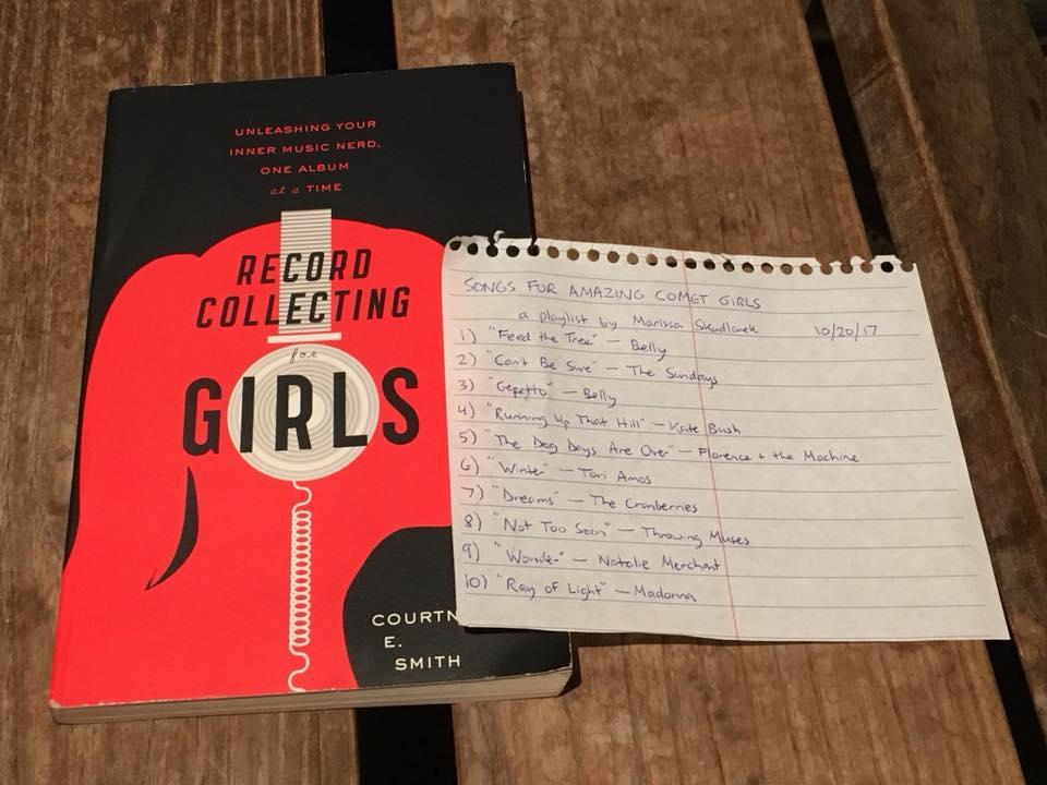 MARISSABIDILLA: Songs for Amazing Comet Girls