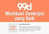 Cara Membuat Deskripsi Entry di 99designs