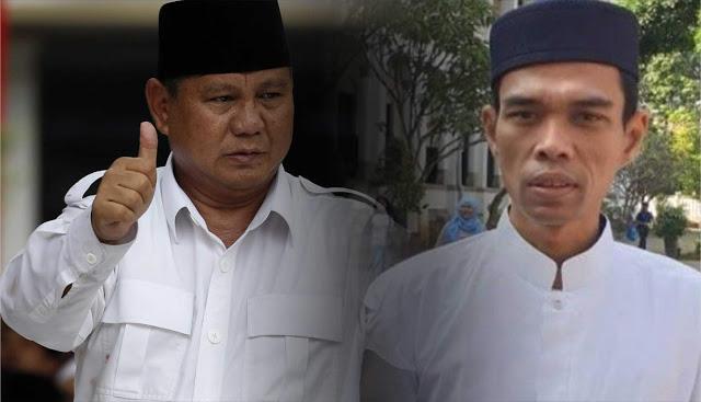 ACTA Deklarasi Dukung UAS Sebagai Cawapres Prabowo