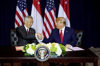 Lee Hsien Loong dan Trump
