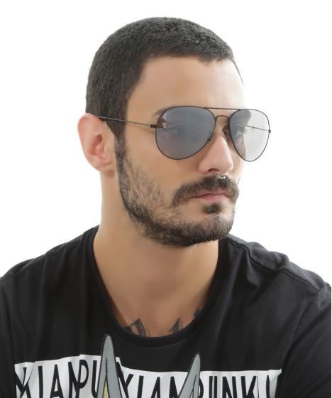 óculos aviador masculino oneself preto
