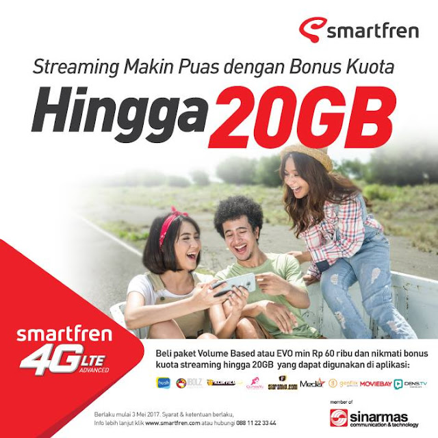 streaming smartfren